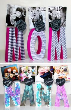 11 heartfelt diy gifts for mom Heartfelt DIY Gifts for Mom Mason Jar Christmas Gifts, Easy Diy Christmas Gifts, Diy Gifts For Mom, Christmas Gifts For Friends, Homemade Gifts, Diy Mother's Day Crafts, Spring Crafts, Easy Handmade Gifts, Display