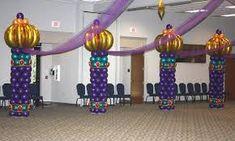 arabian nights balloon decor - Google Search Arabian Nights, Balloon Decorations, Eid, Balloons, Google Search, Globes, Balloon