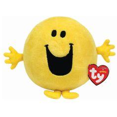 Mr Happy Beanie Plush Toy