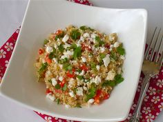 Quinoa Salad with Feta and Cilantro