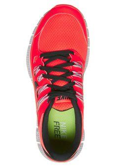 Nike Performance - NIKE FREE 5.0+ - Laufschuh Leichtigkeit - total crimson/black