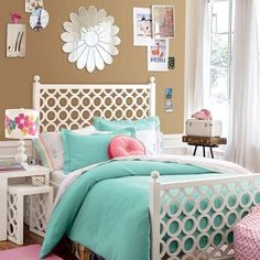 I like the bed frame, just not for a bed.   Maybe Wall Art?
