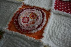 Simple Sweet Yarns: Fuzzy Flannel Flowers