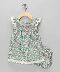 { Liberty of London Smocked Dress } - inspiration
