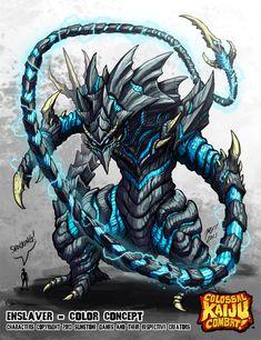 Colossal Kaiju Combat - Enslaver by KaijuSamurai.deviantart.com on @deviantART