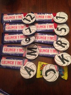 ideas about Volleyball Snacks Volleyball Snacks, Volleyball Locker Decorations, Volleyball Team Shirts, Volleyball Crafts, Volleyball Mom, Volleyball Drills, Coaching Volleyball, Soccer, Volleyball Posters