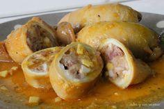 Cocina – Recetas y Consejos Spanish Kitchen, Restaurant Dishes, Tapas, Shrimp, Sausage, Recipies, Stuffed Peppers, Chicken, Meat
