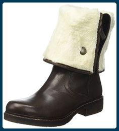 Manas Damen Cola Klassische Stiefel, Gefütterte Kniestiefel, Marron (T Moro), 36 EU - Stiefel für frauen (*Partner-Link)