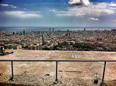 el bunker del carmel, #barcelona, #justlovebarcelona