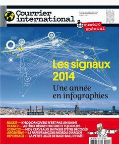 Dans le Courrier International cette semaine, un dossier pour décrypter cette autre façon de dire le monde qu'est la datavisualisation.