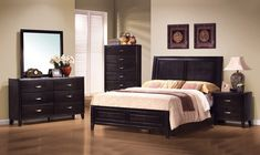 Nacey Low Profile Bedroom Set | Coaster Furniture | Home Gallery Stores #coasterfurniturehome