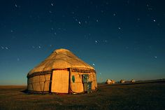 Kirgistan, Jurte