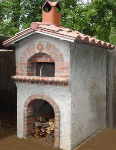 Outdoor oven.