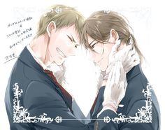 Yuuto and Ichirou #KashikomarimashitaDestiny #YesMyDestiny