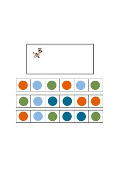Tiles for the dog visual perception game. Find the belonging board on Autismespektrum on Pinterest. By Autismespektrum