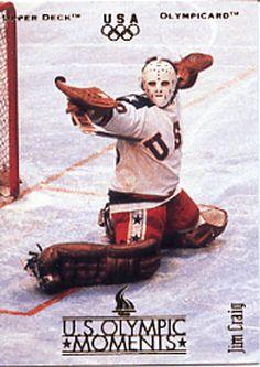 Jim Craig US Hockey Team