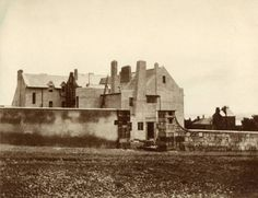 Photograph of The Hill House, Helensburgh: view from west 1903-04 Hunterian Art Gallery Mackintosh collections: GLAHA 52652
