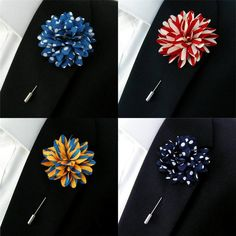 This unique lapel flower is an awesome pattern from afar and up close. Description from ebay.co.uk. I searched for this on bing.com/images