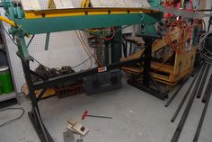 Box and pan brake stand 2
