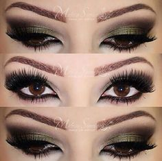 Make up for Brown eyes