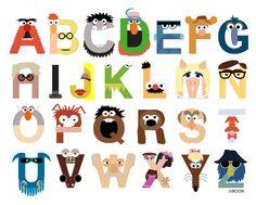 Leçon de la semaine pour les enfants. Au programme : les parties du corps, l'alphabet, les couleurs et les nombres.