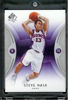 meet 90030 8b354 2006 07 SP Authentic Steve Nash Phoenix Suns Basketball Card – Mint  Condition – In Protective Display Case