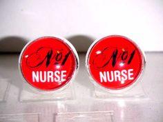 Ohrstecker Krankenschwester Berufe Damen Ohrringe Ohrschmuck Modeschmuck Rot