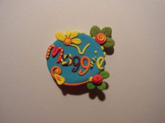 Polymer Clay name Badge