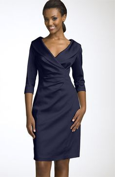 Another possible Mother of Bride dress with longer sleeves