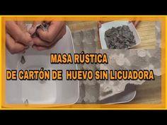 Lascosadelola - YouTube Papercrete, Paper Animals, Paper Art, Clay, Breakfast, Holiday, Crafts, Pasta Piedra, Recipes