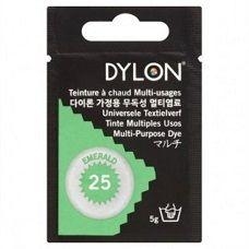25 Emerald groen / Multi purpose textielverf Dylon beschikbaar groen voor eventueel verven van stof