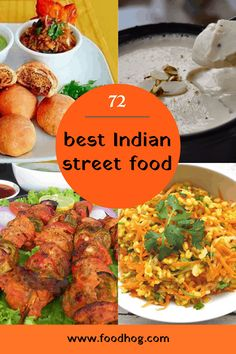 What are some of the best street food dishes you can try in India? We compiled a list of 72 Indian street food dishes from different parts of the country that will make you drool! Dahi Vada Recipe, Pani Puri Recipe, Chaat Recipe, Mumbai Street Food, Indian Street Food, Best Street Food, Puri Recipes, Indian Food Recipes, Ethnic Recipes
