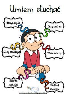 Umiem słuchać Kids Education, Special Education, Learn Polish, Polish Language, Teaching Methods, Speech Therapy Activities, Classroom Inspiration, Sixth Grade, Primary School