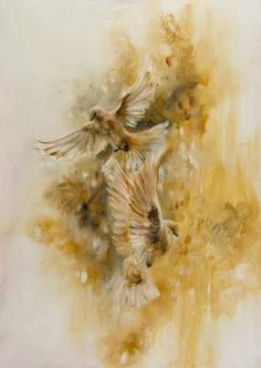Katy Jade Dobson is a UK based oil painter from Yorkshire. Katy Jade Dobson uses a number of mediums to paint her amazing pieces. Eagle Painting, Painting Abstract, Artist Painting, Painting Prints, Watercolor Wallpaper, Bird Artwork, China Painting, Wildlife Art, Limited Edition Prints