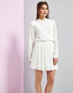 Unique 21 Palermo Pleated Skirt Dress