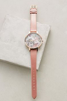 Woodland Rose Watch #anthropologie