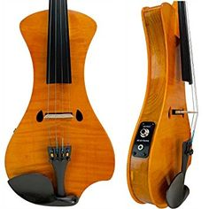 Amazon.com: Bunnel NEXT Electric Violin Outfit Marigold: Musical Instruments