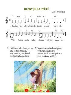 Nature Activities, Activities For Kids, Kids Songs, Earth Day, After School, Music Notes, Montessori, Sheet Music, Palmas