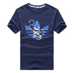 Летние виды спорта с коротким рукавом рубашки вскользь рубашки хлопка с коротким рукавом футболки мужские 361 Нин Чао - Taobao