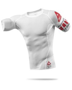 CrossFit HQ Store- Printed Lightweight S S Compression Top - New Gear - Men 86c2a7a25d048