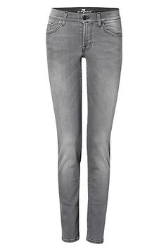 Toronto Grey Roxanne Classic Skinny Jeans by SEVEN FOR ALL MANKIND