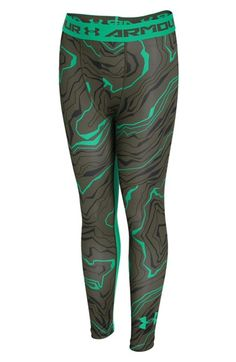 Under Armour 'Armour Up' Print HeatGear® Leggings (Little Boys & Big Boys)