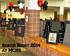 jersey posters for senior night