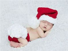 Cheap hat crochet, Buy Quality hats for girls directly from China crochet outfit Suppliers: Infant newborn photography props 2015 Christmas Cute Santa baby clothing hat crochet outfits baby accessories hats for girls Baby Christmas Photos, Newborn Christmas, Babies First Christmas, Christmas Outfits, Red Christmas, Christmas Design, Christmas Clothes, Christmas Costumes, Halloween Christmas