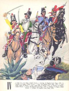 View topic - Soldados: Their Uniforms & Weapons. Army Uniform, Military Uniforms, Military Art, Military History, Mexican Army, Mexican American War, Wyoming, Le Colorado, Arizona