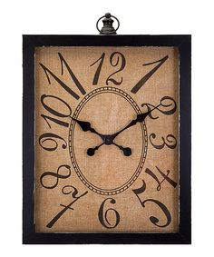 Look what I found on #zulily! Outer Banks Wall Clock #zulilyfinds