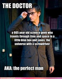 Also, has the face of David Tennant <3