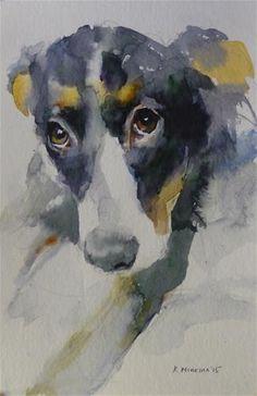 "Daily+Paintworks+-+""adopt115""+-+Original+Fine+Art+for+Sale+-+©+Katya+Minkina"