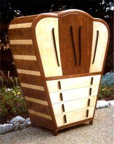 art deco juke box