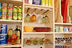 Organize your pantry like a pro. Get tips and tricks for the ultimate pantry makeover. >> http://blog.diynetwork.com/maderemade/2015/09/08/closet-boot-camp-pantry-problems/?soc=pinterest